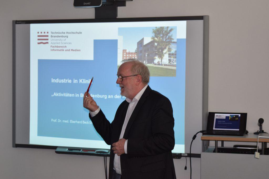 Health-IT Talk Mai 2016, Teltow: Prof. Eberhard Beck